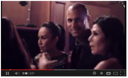 Nigel Barker with guests at the Intimate Evening.