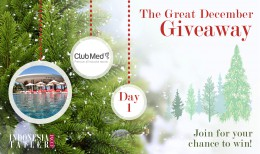 The great december giveaway