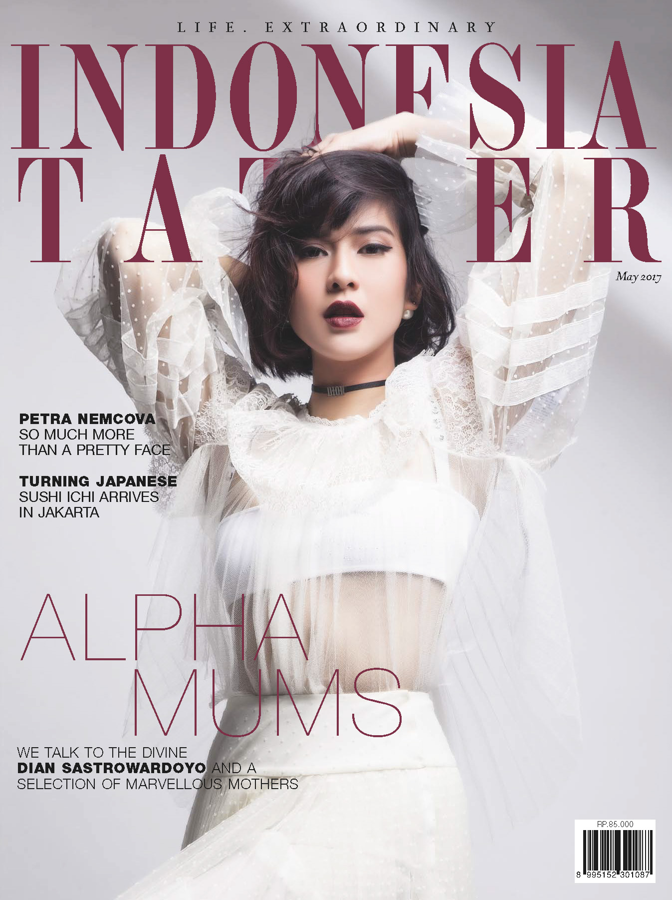 Cover Indonesia Tatler May Issue